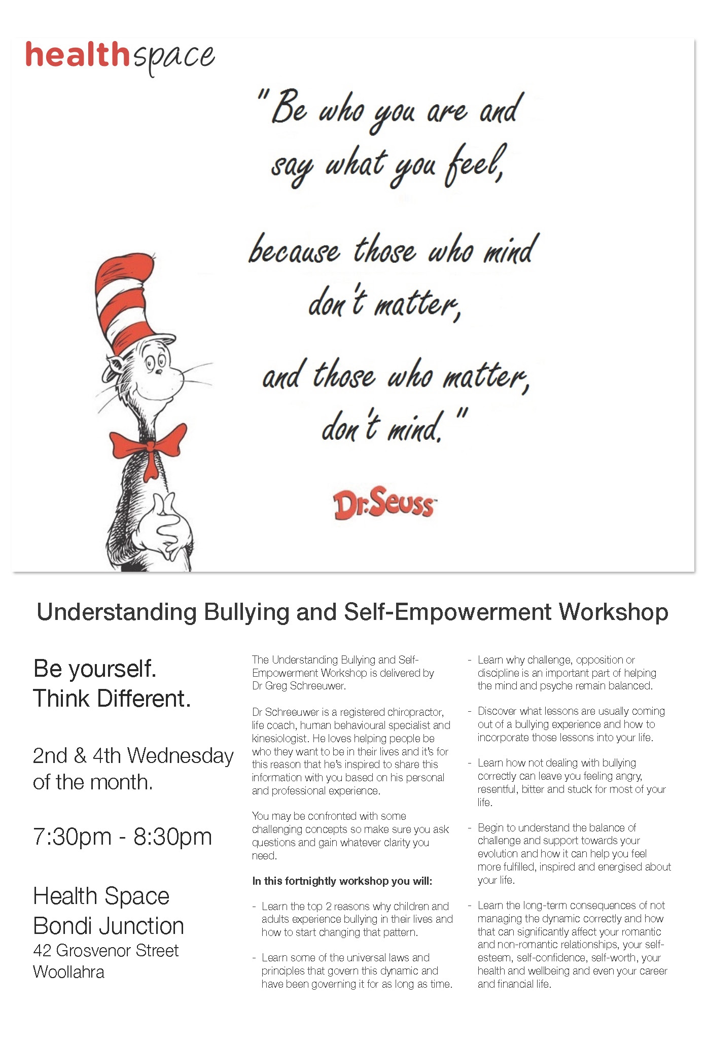 Empowerment Workshop Flyer